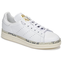 Schuhe Damen Sneaker Low adidas Originals STAN SMITH NEW BOLD Weiss