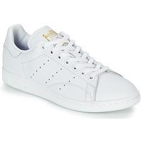 Schuhe Damen Sneaker Low adidas Originals STAN SMITH W Weiss
