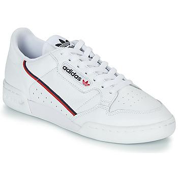 Schuhe Sneaker Low adidas Originals CONTINENTAL 80 Weiss
