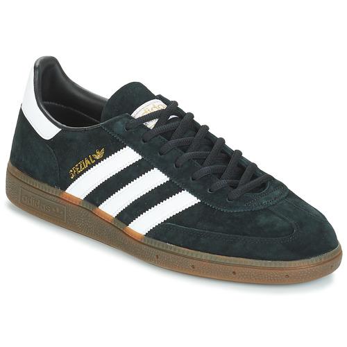 adidas Originals HANDBALL SPZL Schwarz  Schuhe Sneaker Low Herren