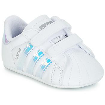 Schuhe Mädchen Sneaker Low adidas Originals SUPERSTAR CRIB Weiss