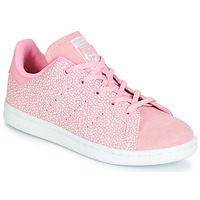 Schuhe Mädchen Sneaker Low adidas Originals STAN SMITH C Rose