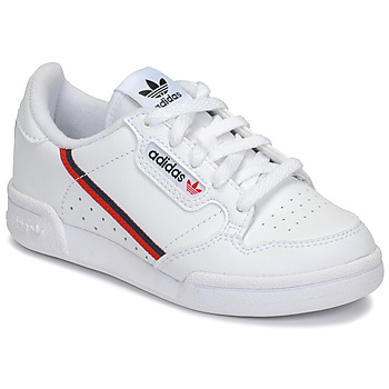 Schuhe Kinder Sneaker Low adidas Originals CONTINENTAL 80 C Weiss
