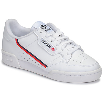 Schuhe Kinder Sneaker Low adidas Originals CONTINENTAL 80 J Weiss