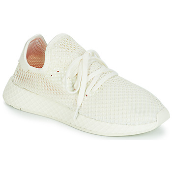 Schuhe Sneaker Low adidas Originals DEERUPT RUNNER Weiss