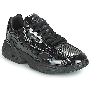 Schuhe Damen Sneaker Low adidas Originals FALCON W Schwarz / Glitterfarbe