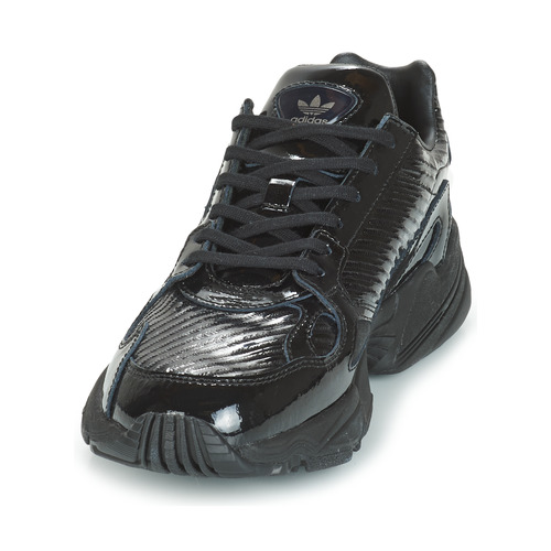 Adidas Originals FALCON W Low Schwarz   Glitterfarbe  Schuhe Turnschuhe Low W Damen e6f14a