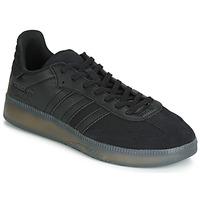 Schuhe Herren Sneaker Low adidas Originals SAMBA RM Schwarz