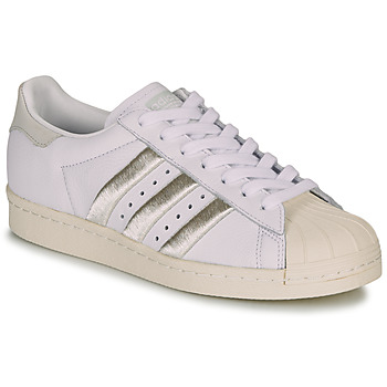 Schuhe Damen Sneaker Low adidas Originals SUPERSTAR 80s W Weiss / Beige