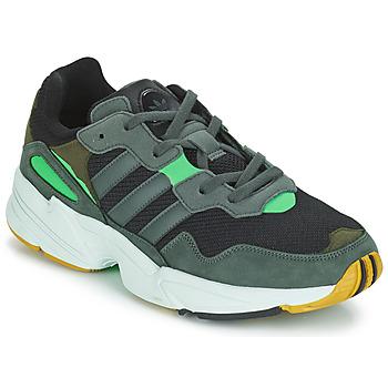 Schuhe Herren Sneaker Low adidas Originals YUNG 96 Grau / Grün