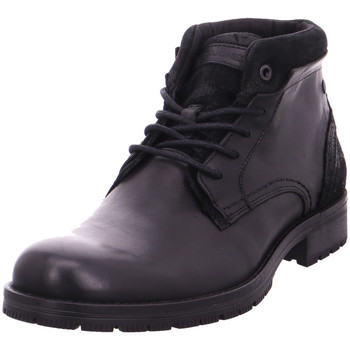Schuhe Herren Stiefel Jack & Jones JFWHARRY MIXED BLACK Mixed Black