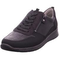 Schuhe Damen Derby-Schuhe Halbschuhe SAPPORO SCHWARZ 10