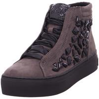 Schuhe Damen Boots Stiefelette Damen Schnürstiefelette DK.GREY COMB
