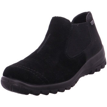Schuhe Damen Stiefel Stiefelette - L7190-00 sch/sc/sch 00