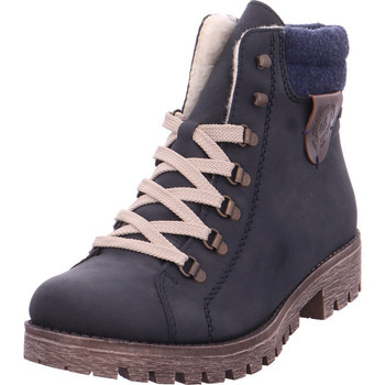 Schuhe Damen Wanderschuhe Rieker - 785F8-14 mare/navy/kastanie 14