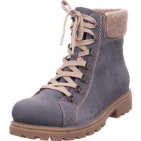 Schuhe Damen Wanderschuhe Rieker - Z1433-15 jeans/wood 15
