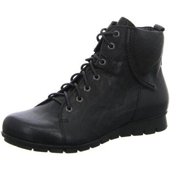 Schuhe Damen Boots Think Stiefeletten MENSCHA 08 5-85078-00 schwarz