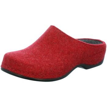 Schuhe Damen Hausschuhe Berkemann Florina 1025-235 rot
