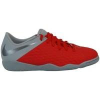 Schuhe Kinder Sneaker Low Nike Hypervenom Phantom Academy Rot,Grau