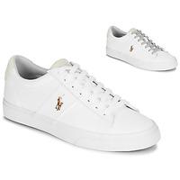 Schuhe Herren Sneaker Low Polo Ralph Lauren SAYER Weiss
