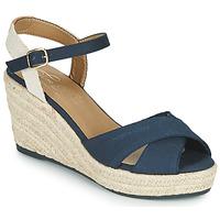 Schuhe Damen Sandalen / Sandaletten Tom Tailor 6990101-NAVY Marine