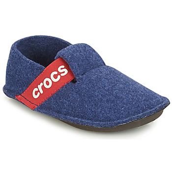 Schuhe Kinder Hausschuhe Crocs CLASSIC SLIPPER K Blau