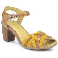 Schuhe Damen Sandalen / Sandaletten Pataugas FANNY Gelb