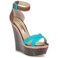 Schuhe Damen Sandalen / Sandaletten Rupert Sanderson NISSA Blau