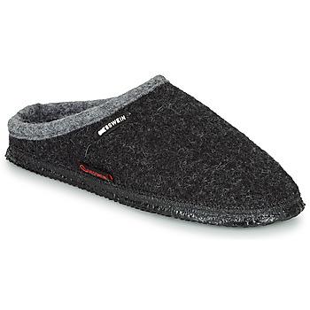 Schuhe Herren Hausschuhe Giesswein DANNHEIM Anthrazit