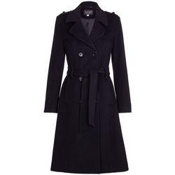 Kleidung Damen Trenchcoats De La Creme  Schwarz