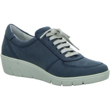 Schuhe Damen Derby-Schuhe Diverse Schnuerschuhe 1009314/8 blau