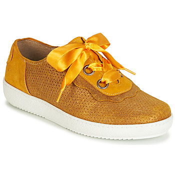 Schuhe Damen Sneaker Low Casta HUMANA Gelb / Gold