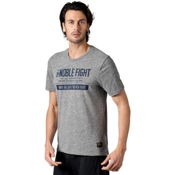 Kleidung Herren T-Shirts Reebok Sport Combat Noble Fight X Tshirt Grau