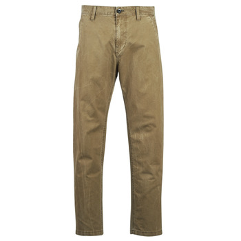 Kleidung Herren Chinohosen G-Star Raw BRONSON STRAIGHT TAPERED CHINO Beige