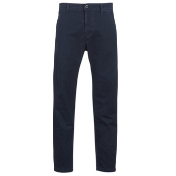 Kleidung Herren Chinohosen G-Star Raw BRONSON STRAIGHT TAPERED CHINO Marine