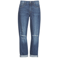 Kleidung Damen Boyfriend Jeans G-Star Raw 3302 SADDLE MID BOYFRIEND Blau / Ripped