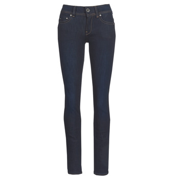Kleidung Damen Straight Leg Jeans G-Star Raw MIDGE SADDLE MID STRAIGHT Blau / Dark
