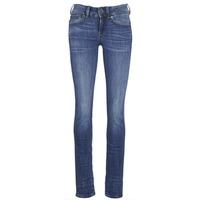Kleidung Damen Straight Leg Jeans G-Star Raw MIDGE SADDLE MID STRAIGHT Blau / Indigo