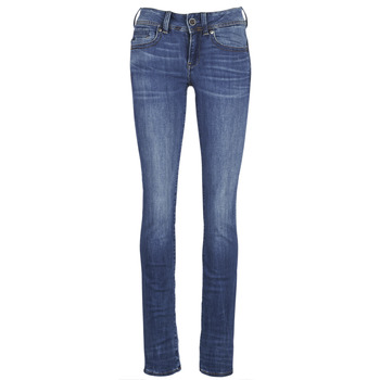 Kleidung Damen Straight Leg Jeans G-Star Raw MIDGE SADDLE MID STRAIGHT Blau / Indigo