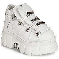 Schuhe Damen Boots New Rock ROCKY Weiss