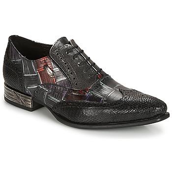 Schuhe Herren Richelieu New Rock  Schwarz