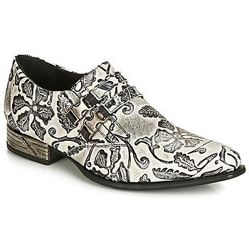 Schuhe Herren Richelieu New Rock  Schwarz / Weiss