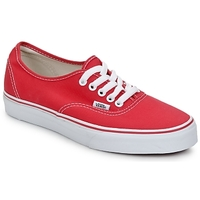 Schuhe Sneaker Low Vans AUTHENTIC Rot