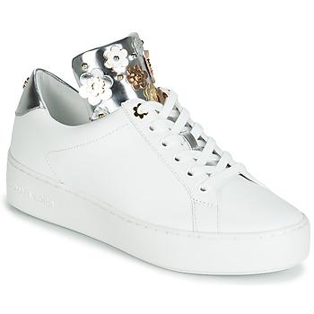 Schuhe Damen Sneaker Low MICHAEL Michael Kors MINDY Weiss