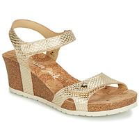 Schuhe Damen Sandalen / Sandaletten Panama Jack JULIA Goldfarben