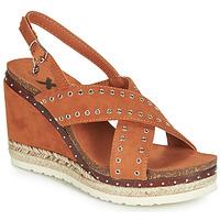 Schuhe Damen Sandalen / Sandaletten Xti 48922 Cognac