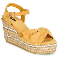 Schuhe Damen Sandalen / Sandaletten Xti 49073 Gelb