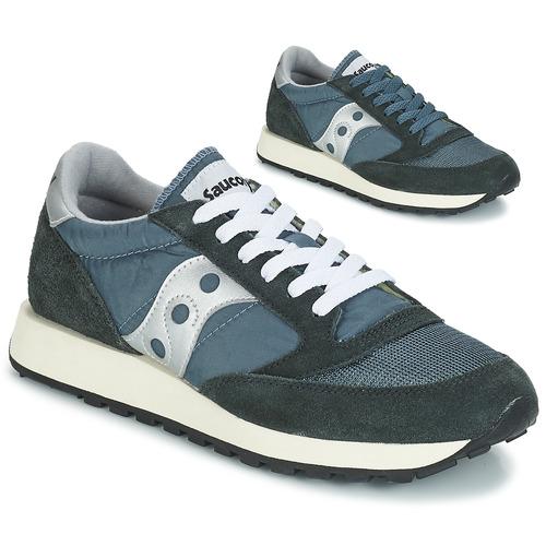 Saucony Jazz Original Vintage Blau  Schuhe Sneaker Low Herren