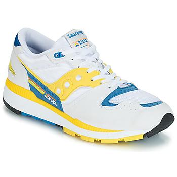 Schuhe Herren Sneaker Low Saucony Azura Weiss / Gelb / Blau