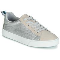 Schuhe Damen Sneaker Low Esprit Cherry Glimmer LU Beige